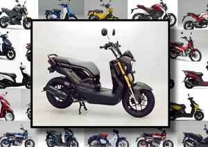 "Thai HONDA「ZOOMER-X」いま日本で買える外国車""原付二種モデル""はコレだ! 【最新125cc大図鑑 Vol.071】"