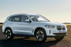 【中国生産のEV】BMW iX3、正式発表 航続距離460kmの新型 内装/サイズが判明 M・ベンツEQCと競合へ
