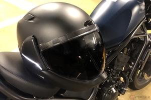 バックカメラ搭載で360°視界を実現したクロスヘルメットX1 実際の使い勝手は?