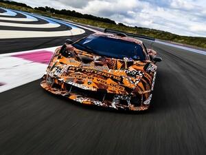ランボルギーニ史上最強のV12自然吸気エンジンを搭載!ワールドプレミアに向けサーキット専用ハイパーカー「SCV12」開発完了