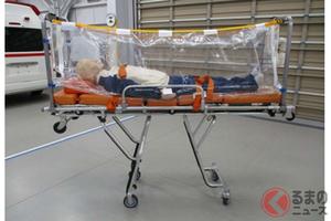 トヨタが医療従事者の二次感染リスクを低減! ストレッチャー取り付け式簡易アイソレーター「e capsule」登場