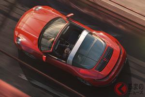 ポルシェ新型「911タルガ」発表 クーペ、カブリオレに続く第3のバリエーション