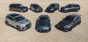 特別なジャガーとランドローバー「SVO」モデルの販売が過去最高に!