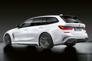 【M3のワゴン】BMW M3ツーリング、2022年後半発表へ 3L直6ターボ 大型キドニーグリルか