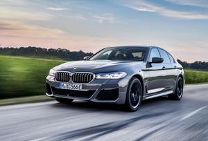 走りのプラグインHV! 「BMW 545e xDrive」がデビュー