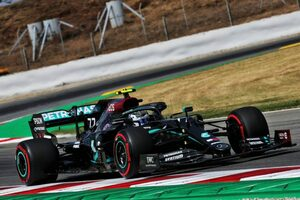 F1スペインGP FP1:ボッタスが首位でメルセデス1-2。フェルスタッペンが約1秒遅れの3番手