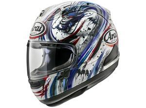 清成龍一選手のニューカラーヘルメットが製品化! アライが「RX-7X キヨナリ・トリコ」を発表