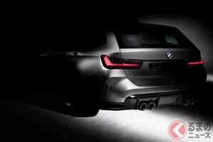 BMW、「M3」に初めてツーリングの設定を発表!「M3ツーリング」開発開始