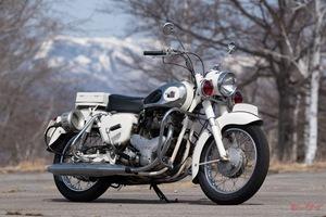 「メグロ製白バイ、最後の輝き」1964東京オリンピックは白バイ世代交代のタイミングだった