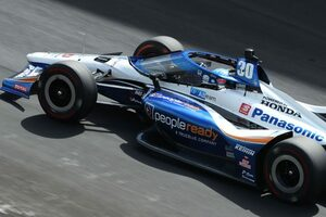 インディ500走行2日目は2番手と順調な佐藤琢磨「トラフィックでのスピードに満足している」