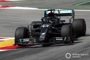 F1スペインFP2:ハミルトン首位でメルセデスがまたもワンツー。レッドブル・ホンダのフェルスタッペンは0.8秒差の3番手