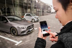 【オンデマンドで自動運転】M・ベンツ、デジタルビジネスに注力 新アプリ投入で