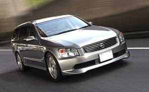 「スポーツカー顔負けの快速M35ステージア、現る」VQ35改3.8L+GTスーパーチャージャーで武装!
