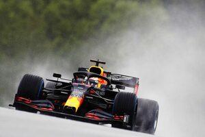 難しい雨のなかレッドブル・ホンダのフェルスタッペンがハミルトンと一騎打ちで2番手【予選速報/F1第2戦】