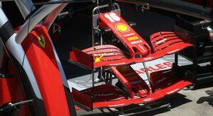 F1技術解説:挽回を図るべくF1第2戦に投入されたフェラーリの新型フロントウイング