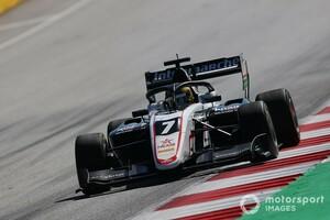 F3シュピールベルク2:レース2は16歳のテオ・プルシェールが初優勝! レッドブル育成のローソン快走もクラッシュでリタイア