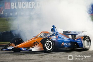 【インディカー】ロードアメリカレース1:ディクソン、驚異の開幕3連勝。佐藤琢磨9位