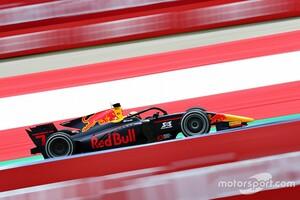 FIA F2シュピールベルク2:角田裕毅、初優勝逃す。ピットでのミスも響きレース1は悔しい2位。シュバルツマンが初優勝