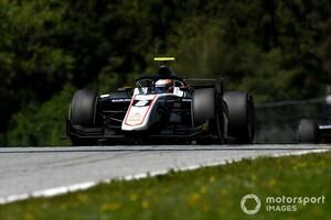 FIA F2シュピールベルク2:レース2はルンガーが初優勝。松下信治11位、角田裕毅と佐藤万璃音はトラブルでリタイア