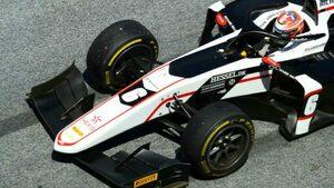 FIA-F2第2戦オーストリア レース2:ルノー育成のルンガー初優勝。角田裕毅と佐藤万璃音はマシントラブルに泣く