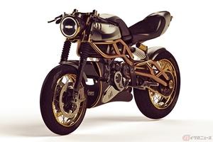2ストエンジン搭載のLangen Motorcycle「The 2 Stroke」登場 ネオレトロな250ccカフェレーサー