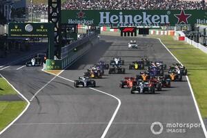 2021年のF1日本GPは10月10日決勝へ。JAFが2021年の国際スポーツカレンダー申請一覧を発表