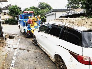 国交省、豪雨被害の廃車 抹消登録申請で特例 被災地域の復興支援