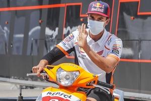 Repsol Honda Teamマルク・マルケス選手右上腕骨の再手術成功、チェコGPは欠場!