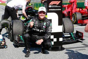 メルセデスF1、バルテリ・ボッタスとの契約延長を発表。2021年もチーム残留へ