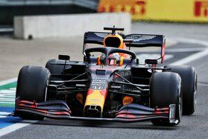【F1第4戦無線レビュー(3)】レース終盤に起きた波瀾にフェルスタッペンも驚き「だれがスロー走行しているって?」