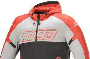 着やすいパーカータイプ! MotoGP王者マルク・マルケス選手との新作コラボジャケットがアルパインスターズから発売中