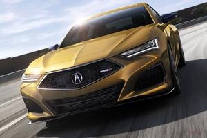 【タイプS発表】アキュラTLX新型 北米ホンダが公開 内装/デザインは? 「S」は2021年春発売
