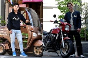 バイク好きのシュートボクシング笠原弘希、友希選手に自宅トレーニングについて聞きました