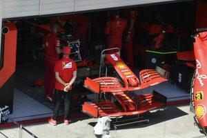 フェラーリF1、第2戦に新ウイングを投入「パフォーマンス向上を期待しているが、表彰台は難しい」とルクレール
