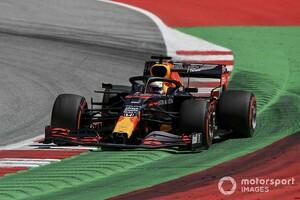 F1シュタイアーマルクFP2速報:レッドブル・ホンダのフェルスタッペン首位。2番手にボッタス