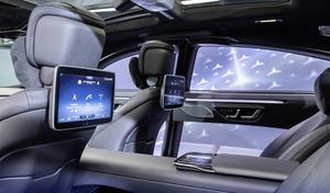 次期型メルセデス・ベンツ Sクラスの車内はSFの世界! 3DやARを満載した次世代コンセプトを渡辺慎太郎が解説