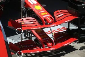 F1メカ解説|フェラーリF1、第2戦シュタイアーマルクGPに新型フロントウイング投入。パフォーマンス改善なるか?