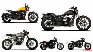 水冷2気筒エンジンで38万円から! 原付二種カスタムバイク、スペイン「レオンアート」日本上陸