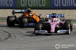 ライバルはマクラーレン? レーシングポイントのセルジオ・ペレス「結果は乗り手の力量次第」