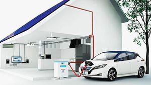 日産、EV活用の再生可能エネルギー普及活動を拡大 「リーフ」購入で太陽光発電無料設置