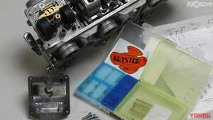 旧車キャブレターのフルレストアにチャレンジ【キースター燃調キットを利用】
