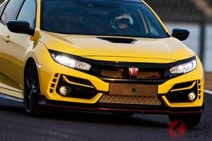 ホンダ、新型「シビックタイプR」限定モデルでFF車鈴鹿最速タイムを記録!