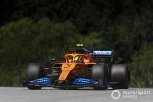 開幕戦3位表彰台のランド・ノリス、黄旗無視で3グリッド降格ペナルティ|F1第2戦シュタイアーマルクGP