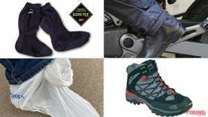 旅プロが指南する雨対策のノウハウ#4:足まわり【靴の中のグチュグチュは絶対NG】