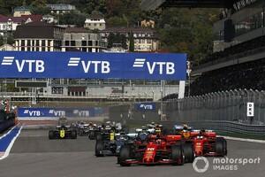 F1が2020年の最新カレンダーを発表。初開催ムジェロとソチが9月に追加され、現時点で10戦に
