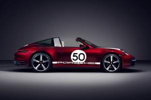 ポルシェ クラシックテイストの「911タルガ4S ヘリテージデザイン エディション」予約開始