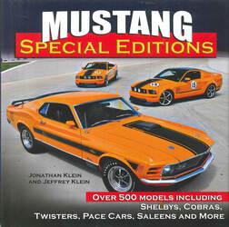 これまで見たことがないフォード製マスタングのスペシャル・エディション新旧モデルを一冊に!【新書紹介】