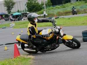 9月13日開催予定のダンロップ・オートバイ杯ジムカーナ、中止が決定