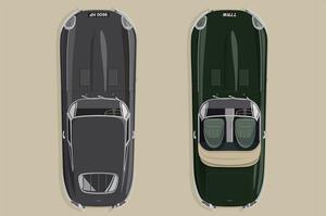 【公式レストモッドで】ジャガーEタイプを再生、限定販売へ 60周年記念モデル