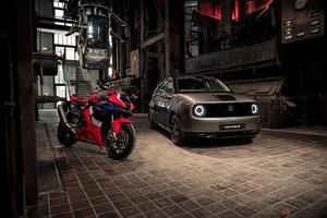 ホンダ「CBR1000RR-R Fireblade SP」と「Honda e」が歴史あるミュージアムで展示